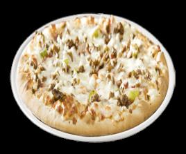 PIZZA VIANDE HACHÉE BOURSIN